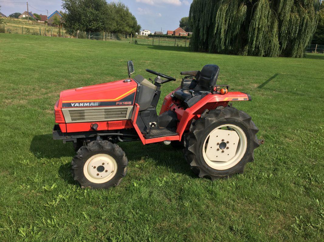 gebruikte tractor yanmar fx165