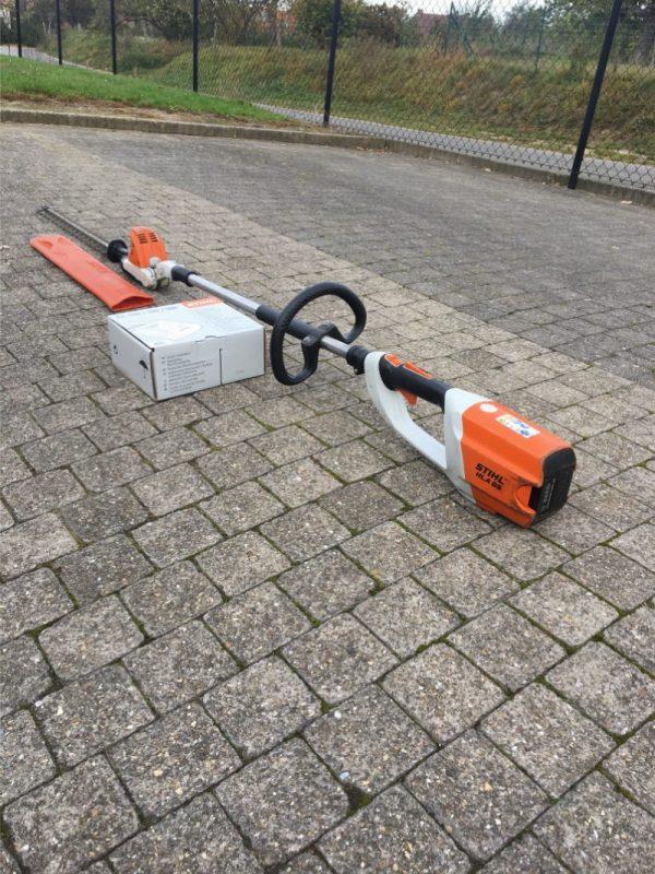 gebruikte accu heggenschaar stihl hla65