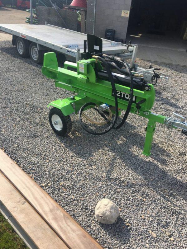 nieuwe houtkliever 22ton bosbouwmachine