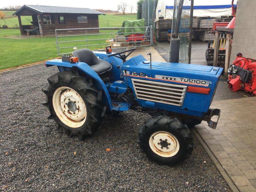 gebruikte tractor iseki tu 2100